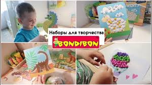<b>Наборы</b> для детского <b>творчества Bondibon</b> 2,5+ - YouTube