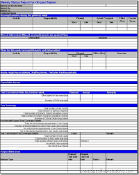 Picture above  A sample project level Weekly Status Report gives project managers a detailed snapshot into the health of the project  Tactical Project Management