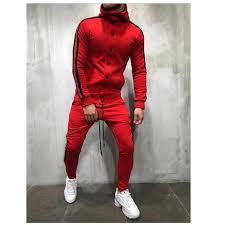 Online Shop <b>CYSINCOS Men</b> Sets Fashion Autumn Patchwork ...