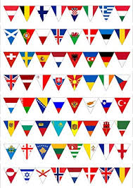 cake topper flags the place you go cupcake toppers bride kids happy birthday wedding wrapper party baking decor diy flag