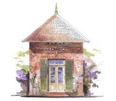 House Plans by John Tee  A Garden CottageA Garden Cottage