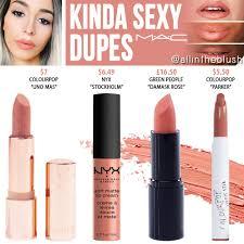 <b>MAC Kinda Sexy</b> Lipstick Dupes - All In The Blush