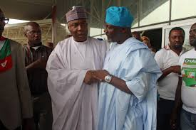 Image result for Saraki arrives Code of Conduct Tribunal for Corruption Charges with 84 Senators