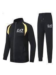 Купить - <b>Спортивный костюм EA7</b> (черный)-6ЕА1-black - в ...