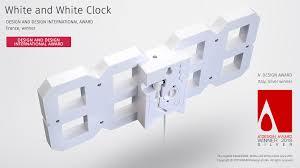 Award winning Original Kibardin 3D digital <b>White and White LED</b> ...