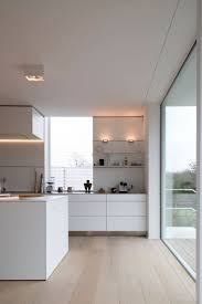 white kitchen windowed partition wall: the drawers on the narrow wall units might be good like this narrow top drawer then bottom two deeper drawers