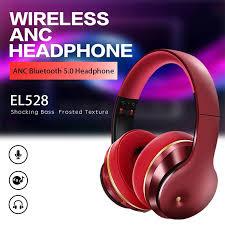 <b>EL528 Bluetooth Headset</b> 5.0 <b>ANC</b> Wireless Noise Cancelling ...