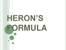 Heron's formula Important questions for cgl ,ssc,ctet,nda,aieee,