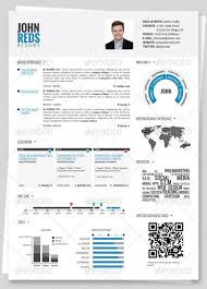 Professional HTML Resume Templates   Web  amp  Graphic Design        Resume Template with Pops of Primary Colors