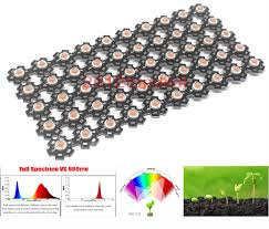 <b>3w full spectrum</b> led grow chip with PCB star , led grow lights ,broad ...