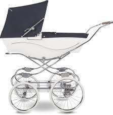Коляска для новорожденных <b>Silver Cross</b> Kensington White/Navy ...