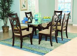 size oval dining table