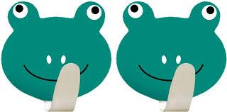 """<b>Крючок Tatkraft</b> """"<b>Frogs</b>"""", <b>самоклеящийся</b>, 2 шт — купить в ..."""