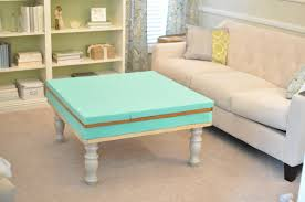 Coffee Table Into A Bench Diy Tufted Ottoman Bench Youtube Turn Ikea Coffee Table Into