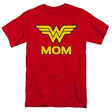 Wonder Woman Wonder Mom DC Comics T Shirt ... - Amazon.com