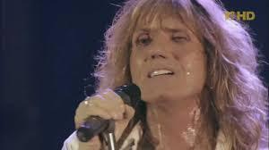 Whitesnake Lead Singer Whitesnake Quotlove Ainquott No Strangerquot Live 2004 For My Sons
