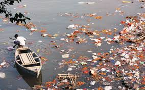 Image result for polluted river images