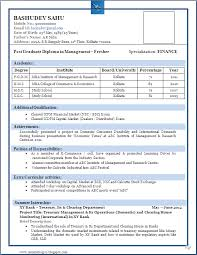 sample resume format for fresher oskle resumes format for freshers