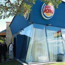 Resultado de imagen de papal bolivian Burger king