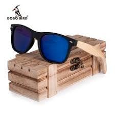 BOBO BIRD New <b>Sunglasses</b> Women Polarized <b>Wood</b> Holder Sun ...