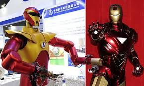China reveals superhero <b>Iron</b> Man <b>robot</b> designed for space travel ...