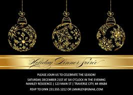 gold bulbs christmas invitations elegant christmas party gold bulbs christmas invitations elegant christmas party printables