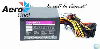 Обзор и тестирование <b>блока питания Aerocool VX</b>-600 — i2HARD