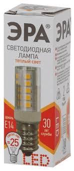 Купить <b>Лампа светодиодная ЭРА Б0028744</b>, E14, T25, 3.5Вт по ...