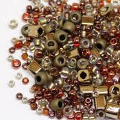 Микс <b>TOHO №3205 бронзово</b>-<b>золотистый</b>