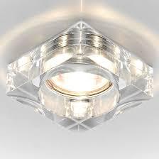 Точечный <b>светильник Ambrella Light</b> D9171 CL/CH Кристальный ...