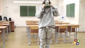 ОБЖ: надевание защитного костюма <b>Л 1</b> - YouTube