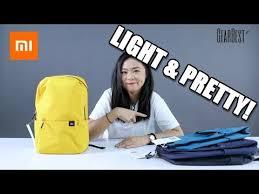 <b>Original Xiaomi Mi</b> Backpack 10L Bag - YouTube