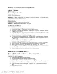 customer service representative objectives for resume examples cover letter customer service rep resume sample customer service representative objectives for resume examples
