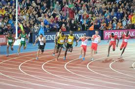usain bolt commonwealth games 2014