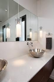 functional storage tricks for a clean and sleek bathroom bathroom pendant lighting double vanity modern