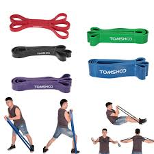 TOMSHOO <b>17Pcs Resistance Bands Set</b> Fitness Rubber Band Yoga ...
