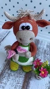 Crochet PATTERN bull / amigurumi <b>cow</b> / pdf tutorial <b>cow</b> / pattern in ...