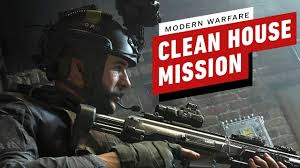 """Call of Duty: Modern Warfare """"Clean House"""" Mission Gameplay (4K ..."""