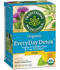 <b>EveryDay Detox</b>® Lemon - Herbal Wellness <b>Teas</b>