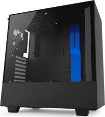 <b>Компьютерный корпус NZXT H500</b>, синий, черный — купить в ...