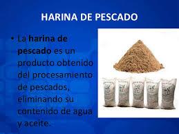Resultado de imagen para harina de pescado