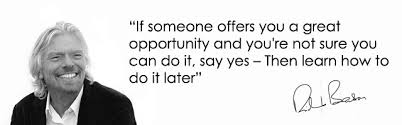 Richard Branson Quotes On Opportunity. QuotesGram via Relatably.com