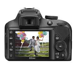 Hasil gambar untuk Nikon D3400 DSLR Snapbridge dan Bluetooth - 24.2MP - Hitam