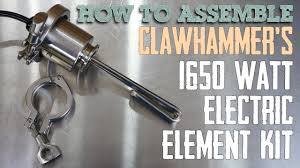 Brewing and Distilling Electric Element Assembly (Updated ...