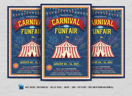 circus flyer photos graphics fonts themes templates creative carnival fun fair flyer