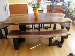 dining table retro solid oak