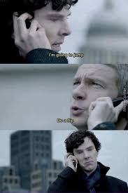 Just Sherlock Holmes And Dr Watson by splitenox - Meme Center via Relatably.com
