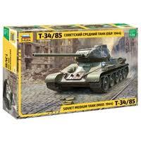 <b>Сборная модель ZVEZDA Советский</b> средний танк Т-34/85 (3687 ...