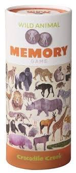 <b>Настольная игра Crocodile Creek</b> Memory Wild Animals — купить ...
