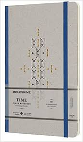 <b>Moleskine Time Notebook Limited</b> Collection Blue Large Plain ...